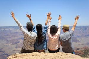 Friends and I at Grad Canyon