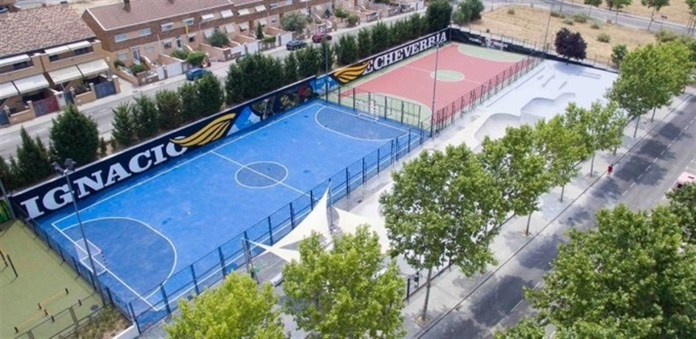 skatepark ignacio echeverria