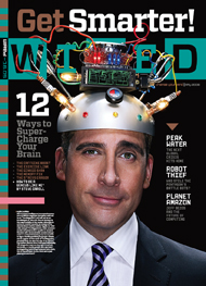 The latest issue of Wired