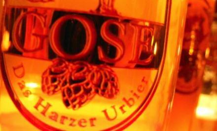 Crystal clear gose hell in Goslar