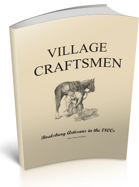 Book cover of Village Craftsmen: Boalsburg Artisans in the 1800s