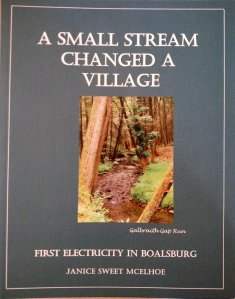 Book cover of A Small Stream Changed A Village