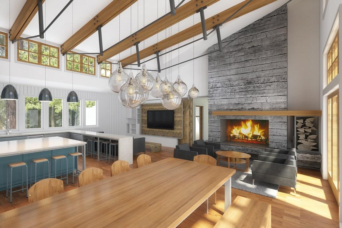 Modern Farmhouse - Vacation Home Design - Board & Vellum