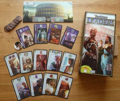 Kulkmann S Gamebox 7 Wonders Leaders