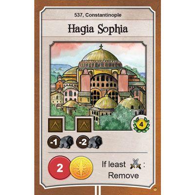 Nations Hagia Sophia promo card