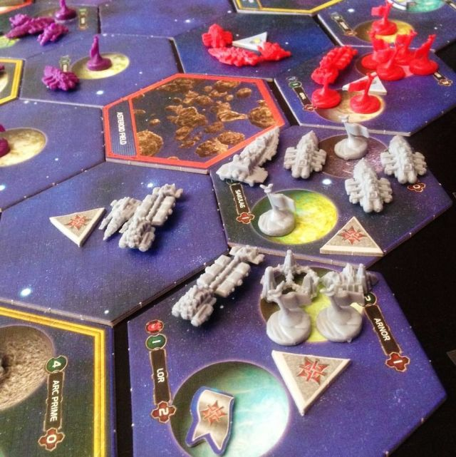 Twilight Imperium War Building Fleet
