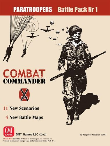 Combat Commander Battle Pack 1 - Paratroopers