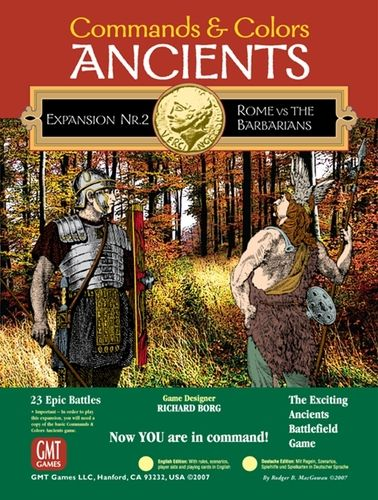 Commands and Colors: Ancients Expansion Pack 2 – Rome and The Barbarians