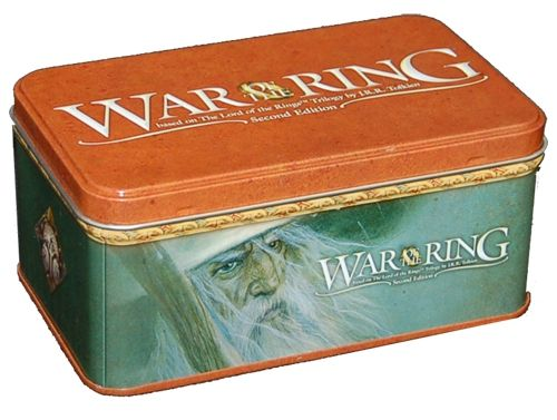 War of the Ring (Second Edition) - Card Box and Sleeves (Gandalf Version)