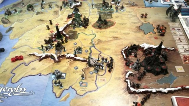 War of the Ring (Second Edition) - Mountains