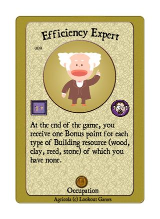 Agricola - The MY Deck