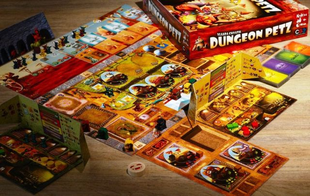 Dungeon Petz - Board Game