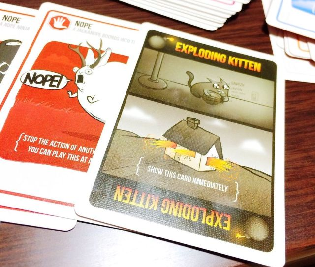 Exploding Kittens - Nope card