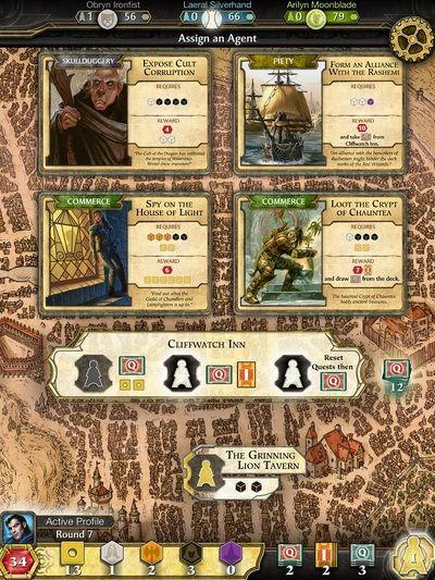 Lords of Waterdeep - Gameplay