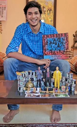 Arjun Shankar Breaking Bad Board Game