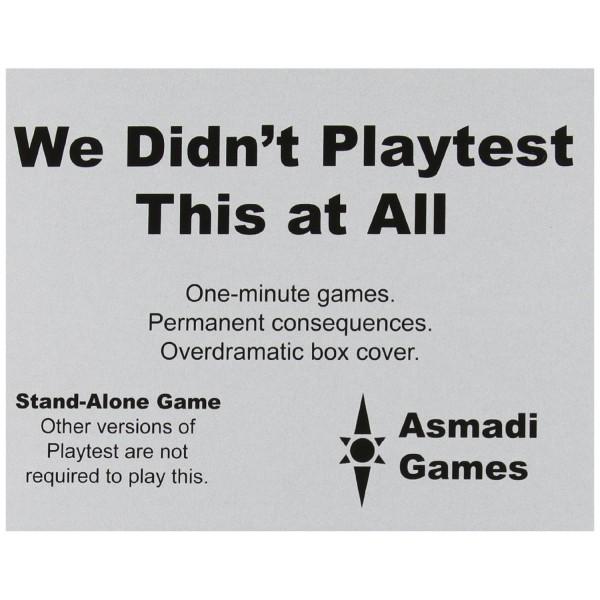 we didnt playtest this legacies