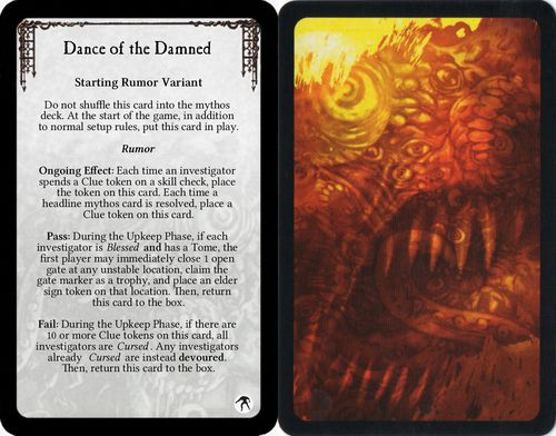 Arkham Horror - Dance of the Damned