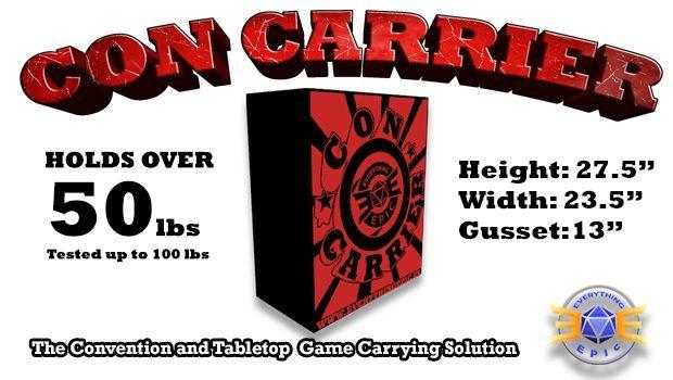 con carrier bag
