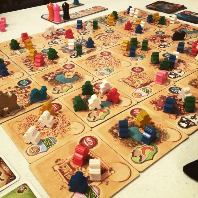 Five Tribes - Gameplay