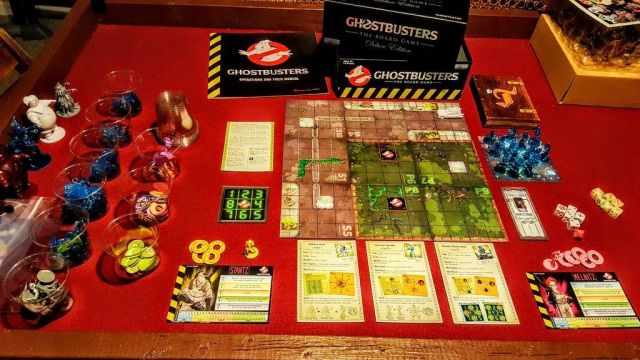 Ghostbusters The Board game - Gameplay