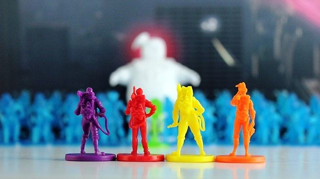 Ghostbusters The Board game - Miniatures