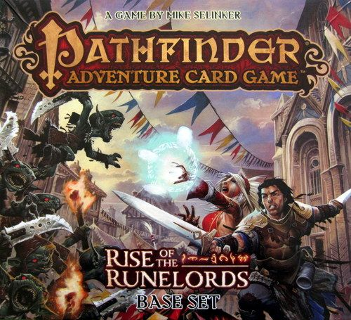 pathfinder adventure card game rise runelords