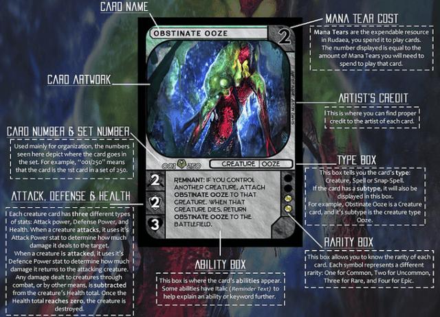 rudaea - card