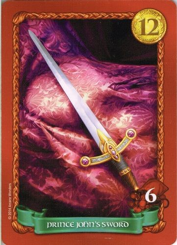 Sheriff of Nottingham - Dice Tower - Prince Johns Sword Promo Card