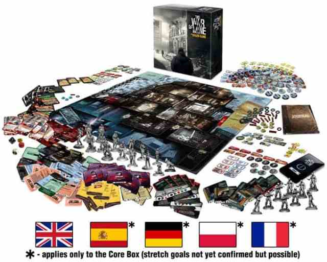 this war of mine - board game
