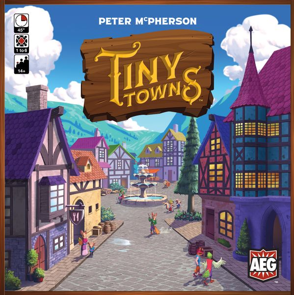 Tiny towns by Peter McPherson