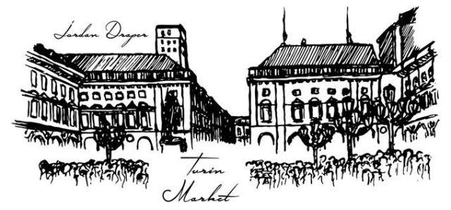 Turin Market Sketch