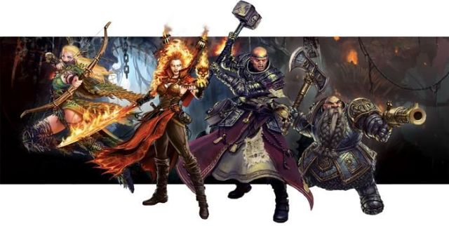 Warhammer Quest The Adventure Card Game - Characters