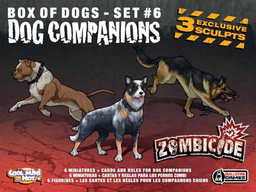 Zombicide Box of Dogs Set #6: Dog Companion