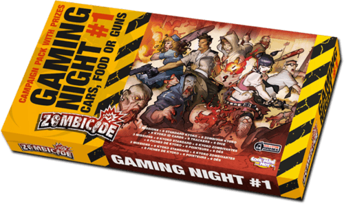 Zombicide Gaming Night #1: Cars Food or Guns