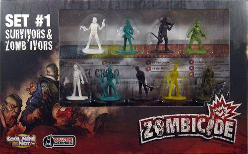 Zombicide Set #1 Survivors and Zombivors