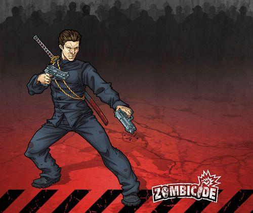 Zombicide Survivor Gabriel