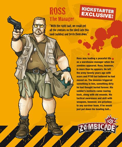 Zombicide Survivor Ross