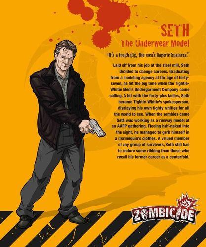 Zombicide Survivor Seth