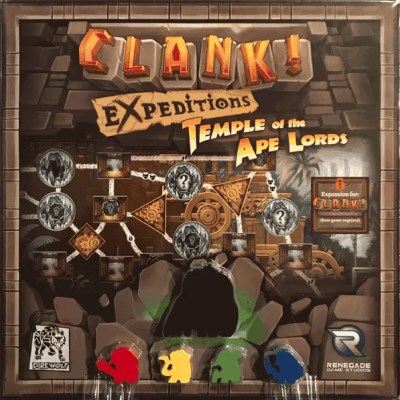 Clank! Expeditions: Temple of the Ape Lords Expansion (EN)