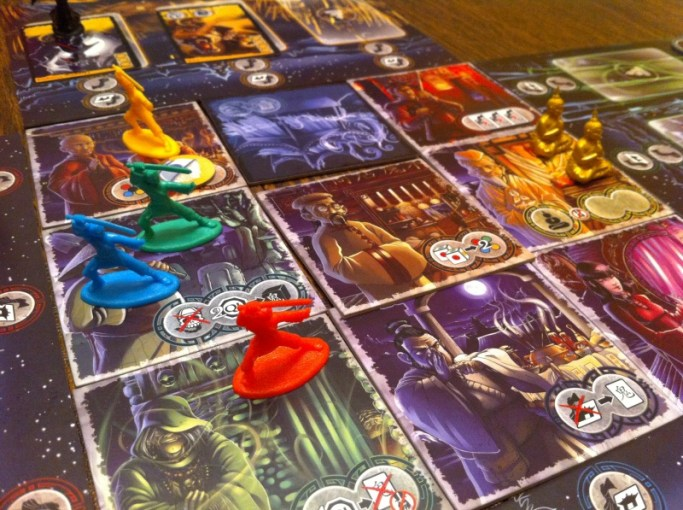 Ghost Stories Review   Board Game Quest Ghost Stories Board