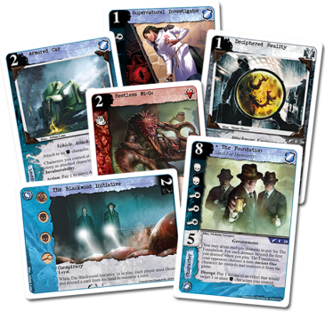 Call of Cthulhu The Card Game extensie For the Greater Good 2