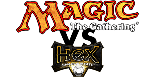 Comparatie Magic The Gathering si Hex Shards of Fate