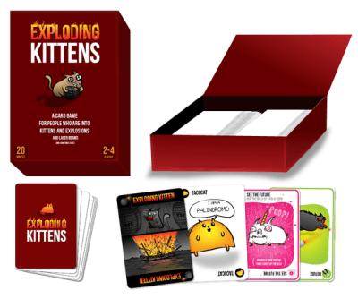 Exploding Kittens-Un card game ce rescrie istoria platformei Kickstarter 2