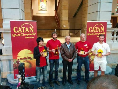 Premierea finalistilor la Campionatul Mondial Colonistii din Catan 2014