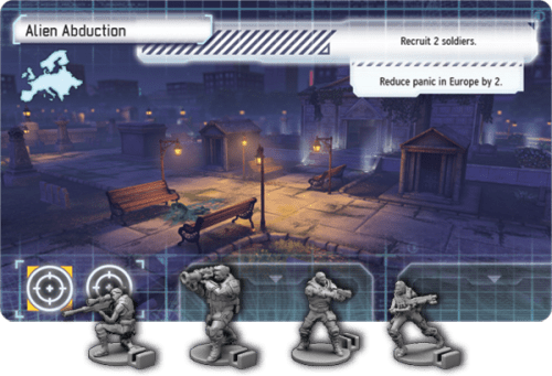 XCOM The Board Game Mission Card