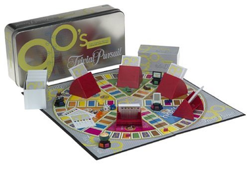 Trivial Pursuit 1990s Edition Board Game Board Games