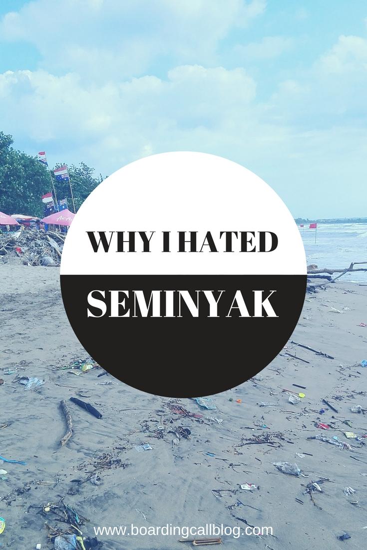 Why I hated Seminyak
