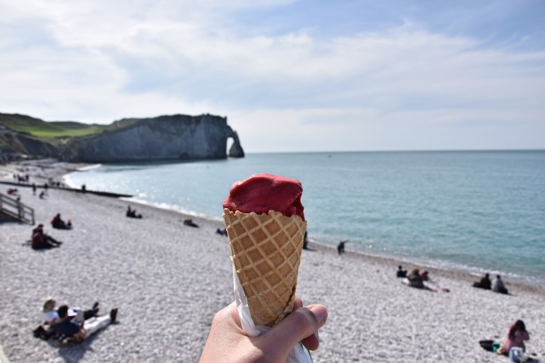 ice cream beach