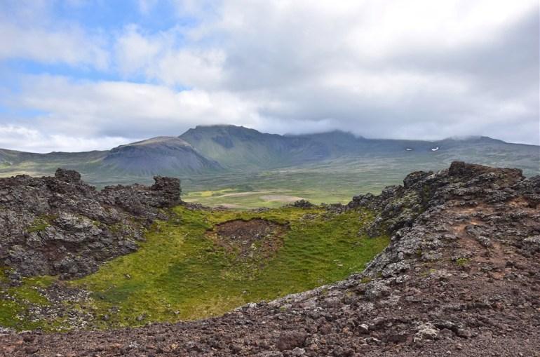 Saxholl crater
