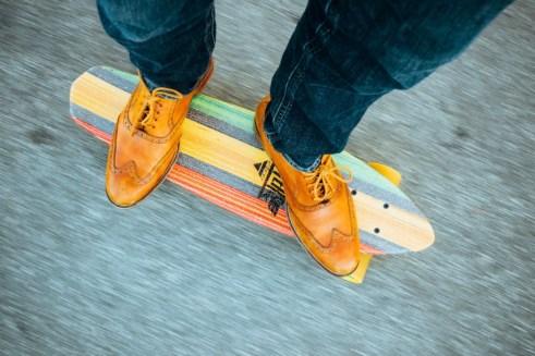 dude skateboarding brand